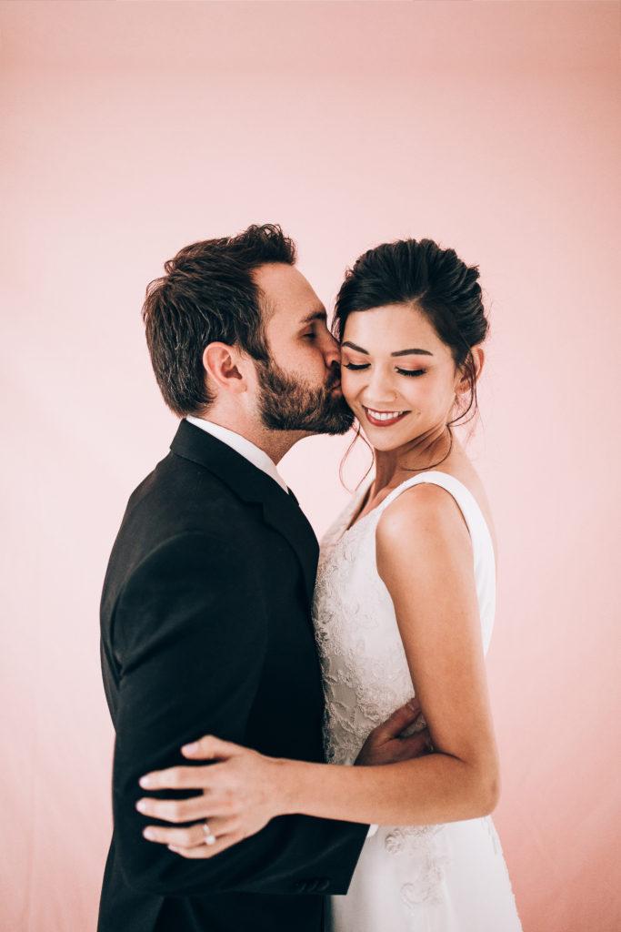 Loose Bridal Updo, Natural Eyeshadow inspiration