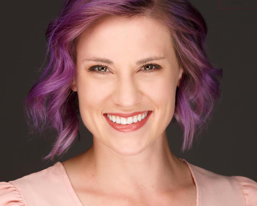 Purple Hair headshot